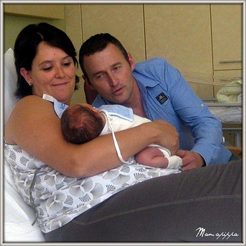 Mama, papa en Robbe